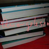 "Stapel Bücher mit dem Schriftzug ""Quergelesen"""