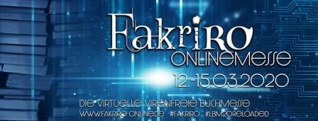 Banner der Fakriro Onlinemesse