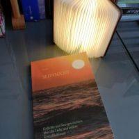 Buchcover mit Sonnenaufgang,