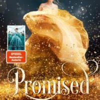 Buch mit Frau in goldenem Kleid auf Cover